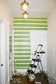 Small Picture Easy Painted Patterned Accent Wall DIY DIY Show Off DIY