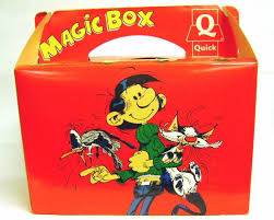 Gaston Lagaffe - Premium Quick - Magic Box (Figurine Flexible et ...