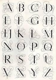 Monograms Kaligrafie Fonty Monogram E Ručně Psané Písmo