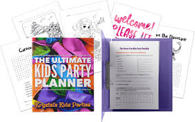 Free The Ultimate Kids Party Planner For Perth Western