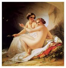 FINE ART PAINTING The Bathers Louis Hersent https www.facebook.