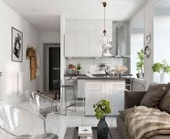 Designs by Style: Small Scandinavian Apartment With Modern Furniture -  Scandinavian