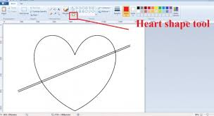 Microsoft Word Hearts How To Draw Decorative Valentine Hearts With Ms Paint