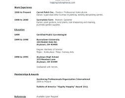 First Time Resume Examples First Time Resume Samples How Part Time