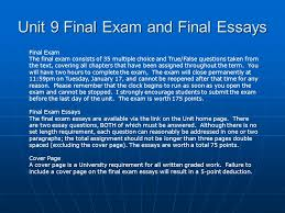 kaplan university pa administrative law unit seminar  unit 9 final exam and final essays final exam the final exam consists of 35 multiple
