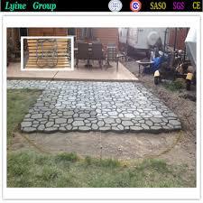 DIY Plastic Path Maker Mold Concrete Molds Garden Road Paving Moulds Brick  Decor Path Artificial Stone