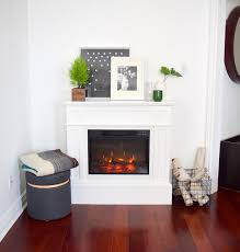 flamelux electric fireplace white mantel home depot northstory