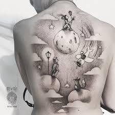 тату экзюпери маленький принц значение фото и эскизы татуировки