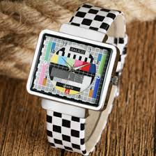dropshipping trendy mens watches uk uk delivery on trendy special tv test signal design wrist watch men trendy simple quartz watches women fashion mens rectangle