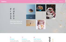 Cakes Bakery Restaurants Category Bootstrap Responsive Web