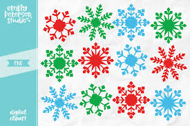 Christmas Snowflakes Pictures Christmas Snowflakes Clipart Illustration Png
