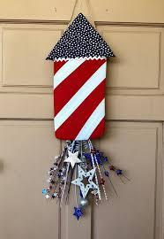 patriotic door hanger patriotic decor 4th of july decor patriotic gifts patriotic
