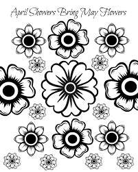 Small Picture Free Printable May Flowers Adult Coloring Page Mama Likes This