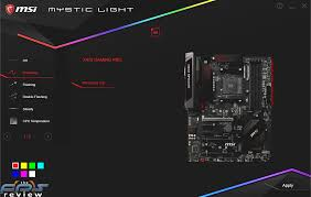 Msi Mystic Light Cpu Temperature Msi X470 Gaming Pro Motherboard Review Page 3 Of 12 The