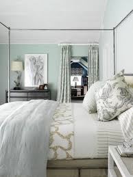 blue green gray bedroom design with gorgeous blue green walls paint color black dresser blue green damask curtains ds iron canopy bed blue gray linen