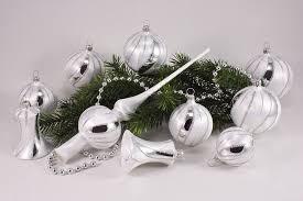 Eis Weiss Silber Onlineshop Für Christbaumschmuck Und