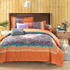 burnt orange bedding burnt orange comforter set king medium size of queen plain bedding black sets