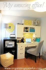 my home office plans. gorgeous gray and yellow home office with touches of turquoise organized cheerful my plans n