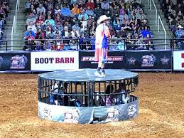 Pbr Thompson Boling Arena Seating Chart The Shark Cage And Entertainer At The Professional Bull