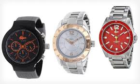 lacoste men s or women s watches groupon goods lacoste watches for men or women lacoste watches for men or women up to
