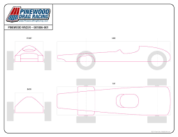 pinewood derby blank template. 58 Unique Pinewood Derby Template Free Template Free