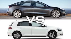 2018 volkswagen e golf range. exellent range 2018 tesla model 3 vs 2017 volkswagen egolf to volkswagen e golf range