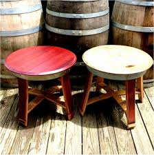 hamshire wooden barrel coffee table 20 coffee table keg coffee table glass top wine barrel wooden