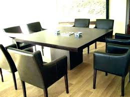 beautiful 8 person round dining table seating set square with chairs medium glass