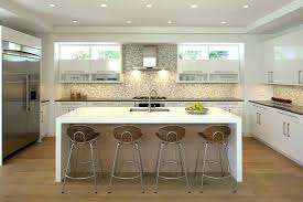 what is a waterfall countertop waterfall installation custom alder wood in north edge lovely with eat