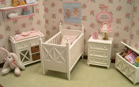 Baby Girl Room Decor Themes With Beautiful Floral Ross Wallpaper ...