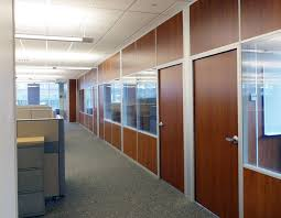 Solid Panel Interior Walls With Glass And Solid Matching Doors Office Wall Panels NxtWall