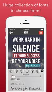 Quotes Editor Amazing Photo Quote App Photo Quote Apps Pinterest App And Fonts
