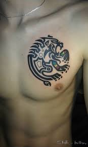 Tetování Drak Rameno