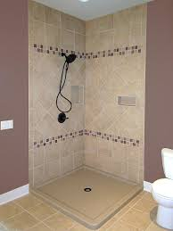 replace shower base dual curb tiled walk in shower replace shower base