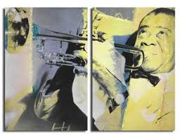 on 2 pc canvas wall art with ready2hangart the color of jazz xvi oversized 2 pc canvas wall art