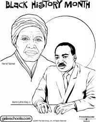 Black History Month Coloring Page - aecost.net   aecost.net