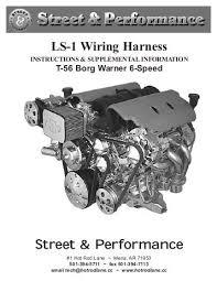 street performance ls1 wiring harness great installation of wiring ls 1 wiring harness street performance rh yumpu com ls1 wiring harness diagram ls1 wiring harness modification