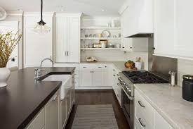 farmhouse style kitchen rugs stirring door knobs with open shelves modern home ideas 11