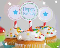 Happy Birthday Cupcakes For You Free Happy Birthday Ecards 123