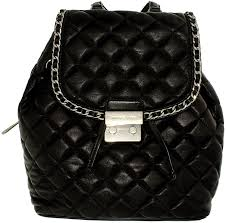 Amazon.com: Michael Kors Carine Medium Quilted-Leather Backpack ... & Amazon.com: Michael Kors Carine Medium Quilted-Leather Backpack - Black -  30T6TCCB2L-001: Michael Kors: Shoes Adamdwight.com