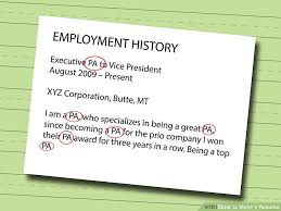 How To Make A Resume Enchanting 60 Ways To Make A Resume WikiHow