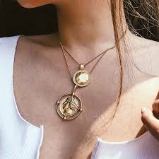 <b>CUTEECO</b> necklace women Rotatable Horcrux Fine Potter Time ...