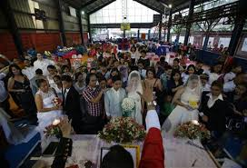 same sex marriage impossible in belmonte headlines filipino religious leader cresencio agbayani performs rites lgbt lesbians gays bisexual and transgenders couples during a rite of holy union