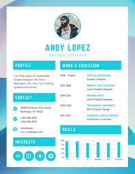 Resume Of A Graphic Designer Customize 563 Graphic Design Resume Templates Online Canva