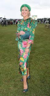 Teacher's Green Gúna Wins Best Dressed Lady Prize At Kilbeggan Races