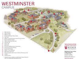 princeton campus map  rider university