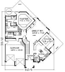 floor plan first story of traditional plan 149 1340