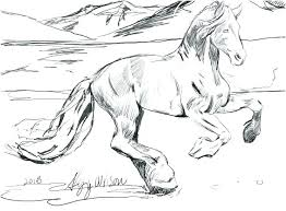 Wild Horses Coloring Pages A1507 Coloring Pages Spirit The Wild