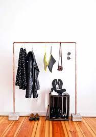 diy garment rack diy clothes rack pvc pipe