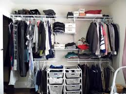 charming closet organizers ikea in shelving design with boxes and hanger bar before the white wall algot white wall mounted storage